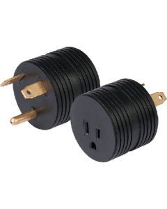 30A Male-15A Female Adapter - Weekender One Piece Adapter