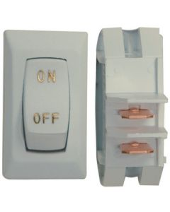 Valterra Wht/Gold3/Pack Labeled Switch - Labeled On/Off - Spst