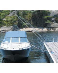 Dock Edge Premium Dockside Mooring Whip, 16', 20,000 Lbs