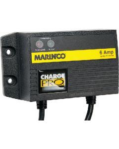 Marinco On-Board Battery Charger, 1 Bank 6 Amp, 12V