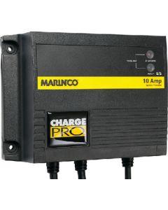 Marinco On-Board Battery Charger, 2 Bank 10 Amp, 12V / 24V