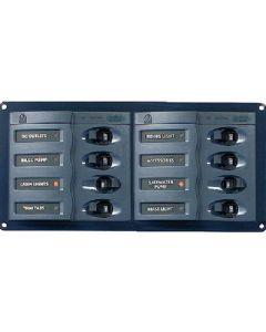Ancor Dc Circuit Breaker Panel 8 Wa - BEP Marine