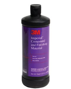 3M Imperial Compound & Finishing Material, 32 oz