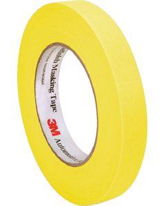 Masking Tape 18Mm 3M Yellow - Automotive Refinish Yellow Masking Tape