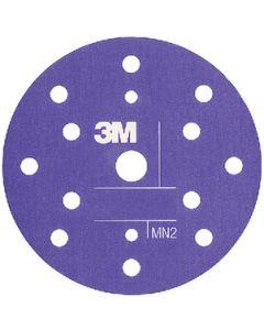 "3M 6"" Flexible Abrasive Hookit Dust Free Disc, P1500, 25/Pk"