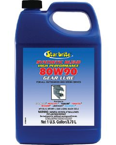 Starbrite Synthetic Blend 80w 90 Lower Unit Gear Lube, 1 Gal.