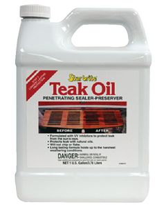 Starbrite Teak Oil Gallon - Star Brite