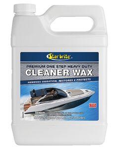 Starbrite Premium One Step Heavy Duty Cleaner Wax, Gal