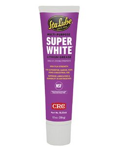 CRC White Grease 10 Oz Tube
