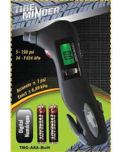 Tire Gauge 6-In-1 Digital - Tireminder&Reg; 6-In-1 Digital Tire Gauge