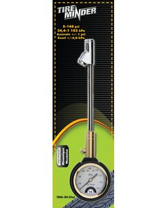 The Minder Research Inc 10In Dual Head Mechanical Gaug - Tireminder&Reg; Mechanical Dial Tire Gauge
