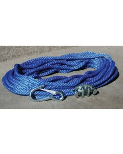 Panther Anchor Rope W/Cleat & Hook
