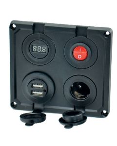 12V 4 Function Power Panel - 12V 4-Function Power Panel