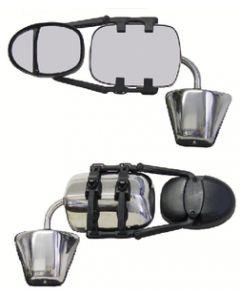 Prime Products Dual Head Rachet Clipon Mirror - Dual Head Xlr Ratchet Clip On Mirror