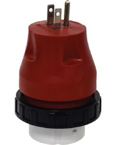 15A-50A Detachable Adpt. Plug - Mighty Cord&Reg; Electrical Adapter Plug W/ Locking Ring