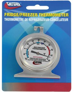 Valterra Frdge/Frzr Thermometer Carded - Refrigerator/Freezer Thermometer