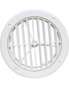 """A/C Vent Louvered 5 White - 5"""" Louvered A/C Vent"""