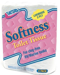 Valterra Quilted Softness Toilet Tissue - Toilet Paper-2 Ply
