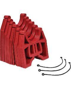 Slunky Hose Support 10' Red - Slunky Drain Support