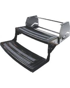 Step-Manual Double 24 Radius - Manual Steel Entry Steps