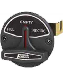 Flow Rite Fill/Empty/Recirc Bk/White Let