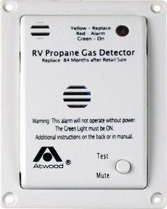 Dometic RV Lp Gas Alarm 12V Fm. (37762) - Lp Gas Detector