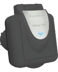 Furrion 30A Square RV Power Inlet with Powersmart Technology