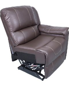Theater Seat-Lh Jaleco Choc - Theater Seating