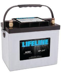 Lifeline BATTERY AGM 12V D/C LLGPL27T