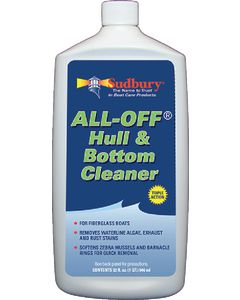 Sudbury All-Off Hull & Bottom Cleaner, Qt.