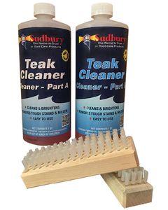 Sudbury Two-Part Teak Cleaning Qt. Kit