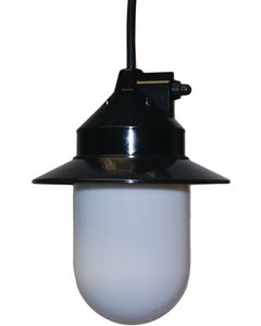 Polymer Products Outdoor Pendant Light (Black)