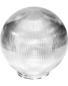 Polymer Products LLC Red Globe Only- Packaged - Acrylic Globes