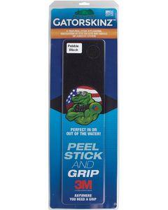 """Gator Guard GatorSkinz Step Pad, 16"""" x 4"""" Black w/Grit Finish"""