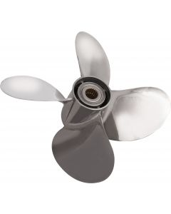 """Solas Saturn  15.50"""" x 19"""" pitch Standard Rotation 4 Blade Stainless Steel Boat Propeller"""