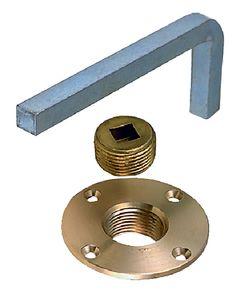 Perko Plug Garboard Drain Bronze