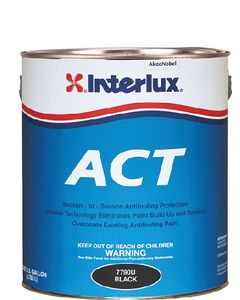 Interlux Fiberglass Bottomkote Act With Irgarol Antifouling Boat Paint