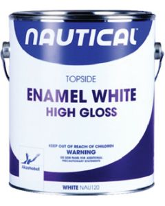 Interlux Nautical Topside Enamel, White Gloss Gal.