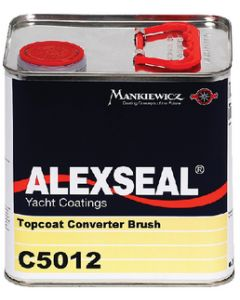 ALEXSEAL® Topcoat Converter for Brushing, 1/2 Gal.