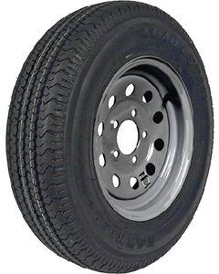 "Loadstar 13"" St Radial Tire & Wheel Assembly, St175/80r13 C/5-Hole Modular Galvanized"