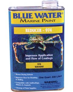 Blue Water Marine Paint Reducer 974