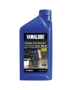 Yamaha 4M Outboard 10W-30 Mineral Engine Oil