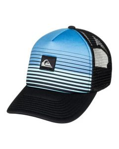 Quiksilver Men's Stripe Block Trucker Hat