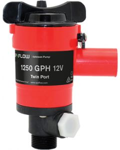 Johnson Pump Twin Port Pump, 1250 GPH