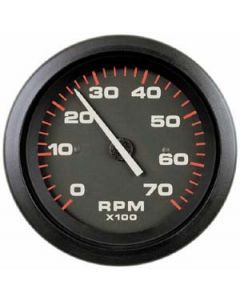 "SeaStar Solutions Amega 3"" Tachometer, 7k rpm O/B Alt & 4-Cycle Gas"