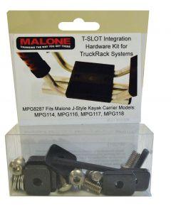 T-Slot Mounting Kit for Aero Style Bars (MPG114, 116, 117, 118)