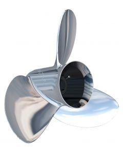 """Turning Point Propellers Express Mach3 OS OS-1619 () 15.6"""" x 19"""" pitch Standard Rotation 3 Blade Stainless Steel Boat Propeller"""
