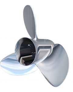 """Turning Point Express® Mach3 OS Left Hand Stainless Steel Propeller - OS-1621-L - 15.6"""" x 21"""" - 3-Blade"""