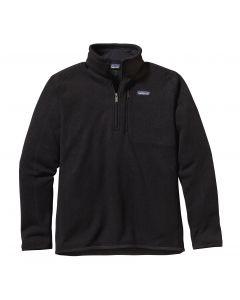 Patagonia Men's Better Sweater 1/4 Zip-Black