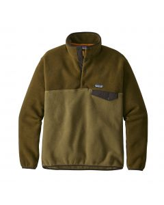Patagonia Men's Synchilla Snap T Pullover-Cargo Green